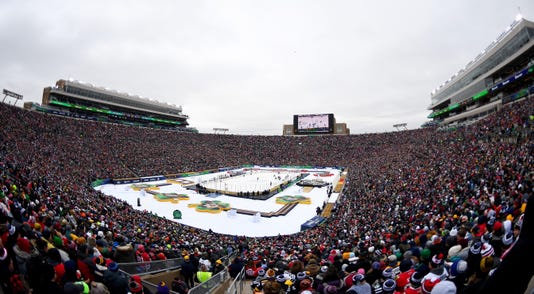 2019 Bridgestone Nhl Winter Classic Boston Bruins V Chicago Blackhawks