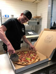 Mike Wathen of Franklin Street Pizza Factory