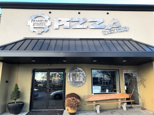 Franklin Street Pizza Factory has become a trendy Franklin Street staple.