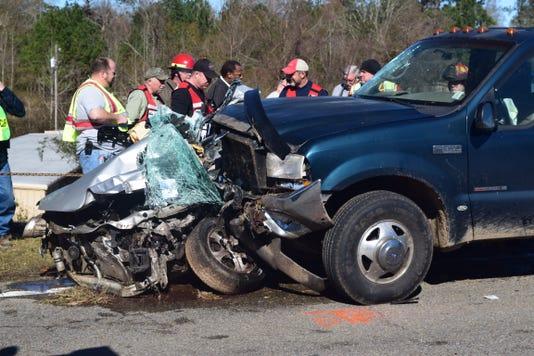 Fatal wreck in Jones County