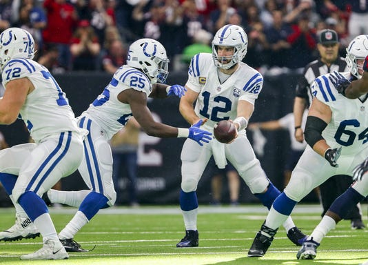 Colts vs. Texans AFC Playoff game