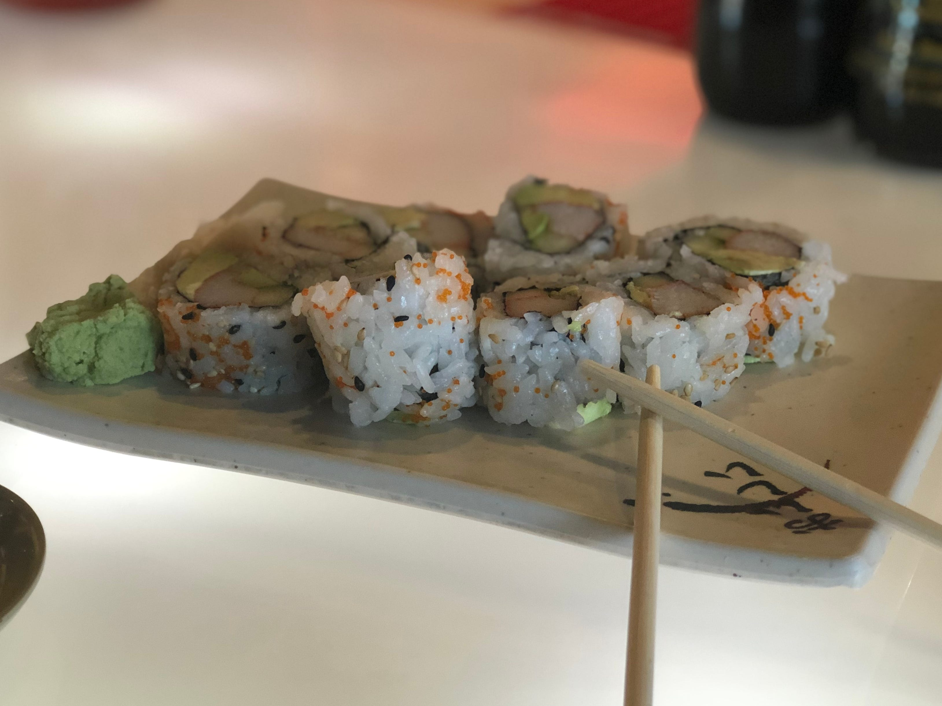 California sushi rolls at Asia Cafe in Powell