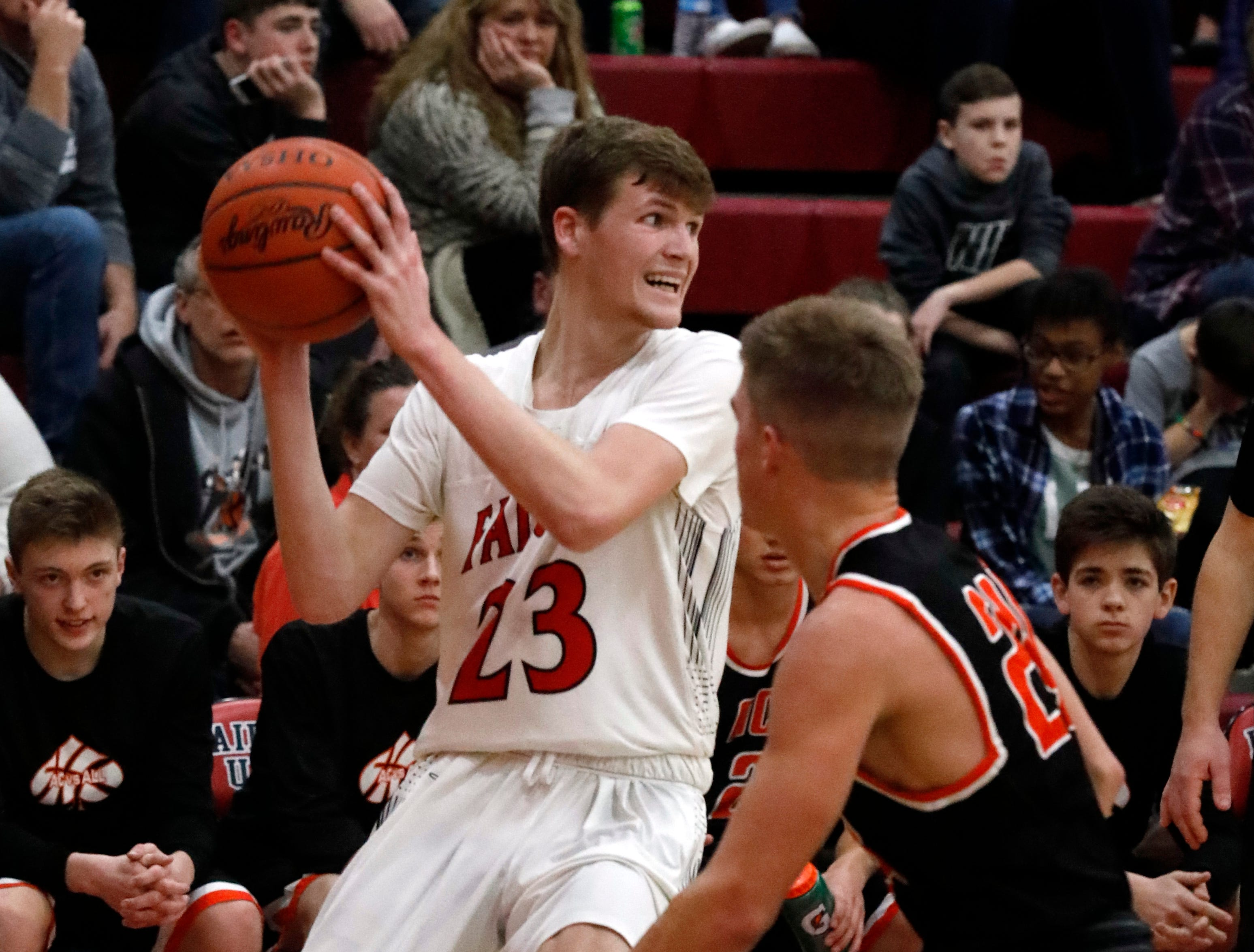 Fairfield Union defeated Amanda-Clearcreek 54-49 Friday night, Jan. 4, 2019, at Fairfield Union High School in Rushville.