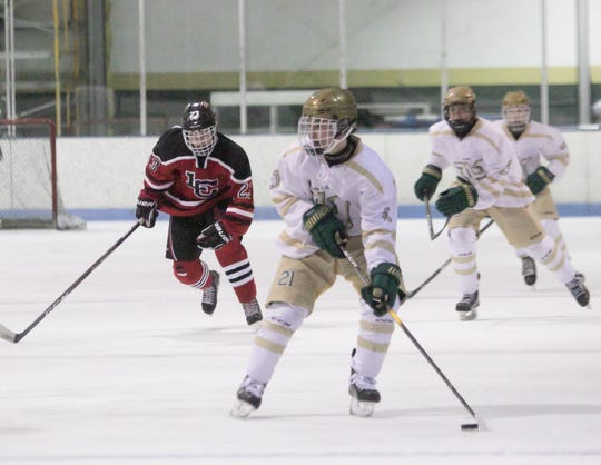 Graham Hassan leads Howell in scoring by 10 points, scoring 10 goals and 14 assists in 13 games.