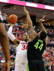 Ohio State's Kaleb Wesson and MSU's Nick Ward have already battled twice this season. Wesson returned from a suspension Thursday. Ward is expected to play Friday after missing three weeks with a broken hand.