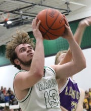 Madison's Tyler Tackett led the Rams to a 5-17 record and a No. 9 finish in the Richland County Boys Basketball Power Poll.