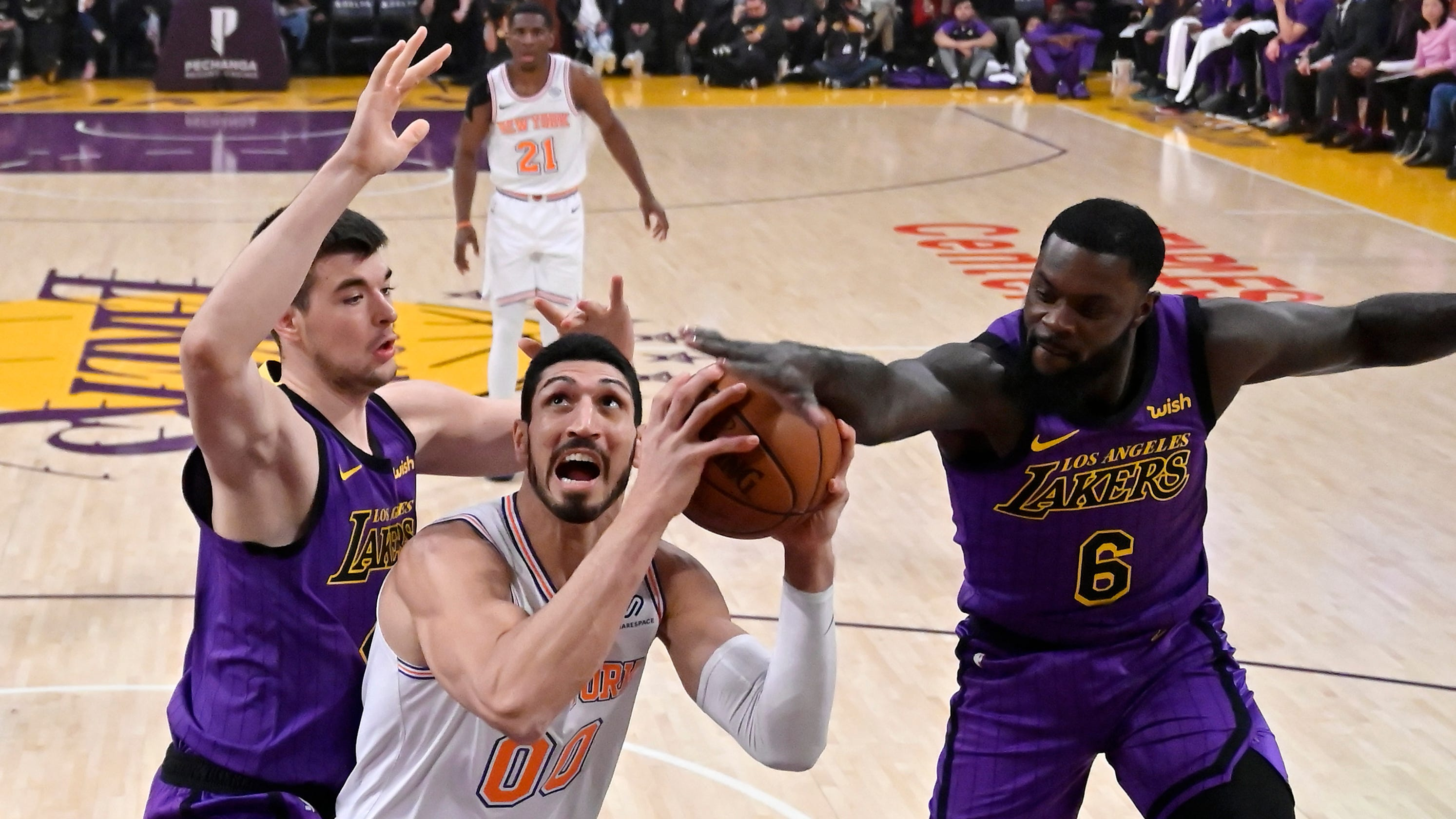 New York Knicks Enes Kanter And Spies Center Wont Go To London