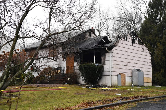 East Hanover Police Chief Christopher Cannicco confirmed that two people believed to be the homeowners were killed in a Friday night fire on Kimble Place in East Hanover. The home on Saturday, January 5, 2019.