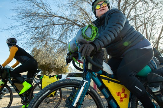 New Mexico State Representative Angelica Rubio rode her bicycle from Las Cruces to Santa Fe for the 2019 legislative session.