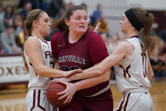 Mayville's Syd Schultz will play basketball at Division I Portland State.