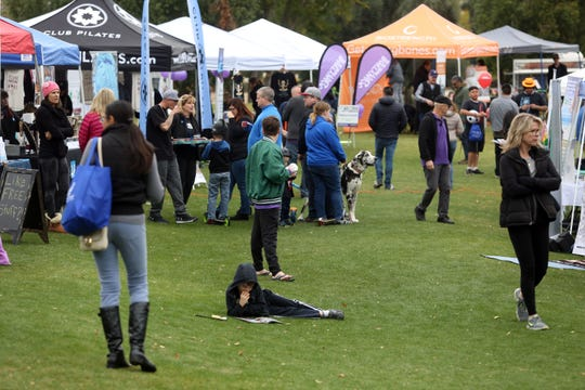 Palm Desert hosts the annual LiveWell Festival on Saturday, January 5, 2019 in Palm Desert.