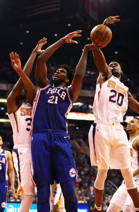Nba Philadelphia 76ers At Phoenix Suns