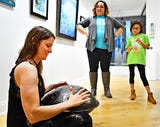 Harrisburg artist Chelsea Caroline shares about the handpan at Creative York. Caroline is one of the artists featured in the current exhbit, Water ER, which is on display thru Feb. 16.