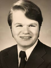 Matt Chandler started working at Fred Meyer when he was 16 and a student at South Salem High School. This is his senior photo. He graduated in 1970.
