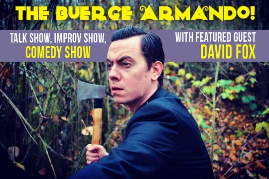 The Buerge Armando is a new show at Capitol City Theater that is a combination of a talk show interview, improv and comedy.