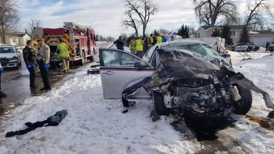 Rapid City pursuit crash