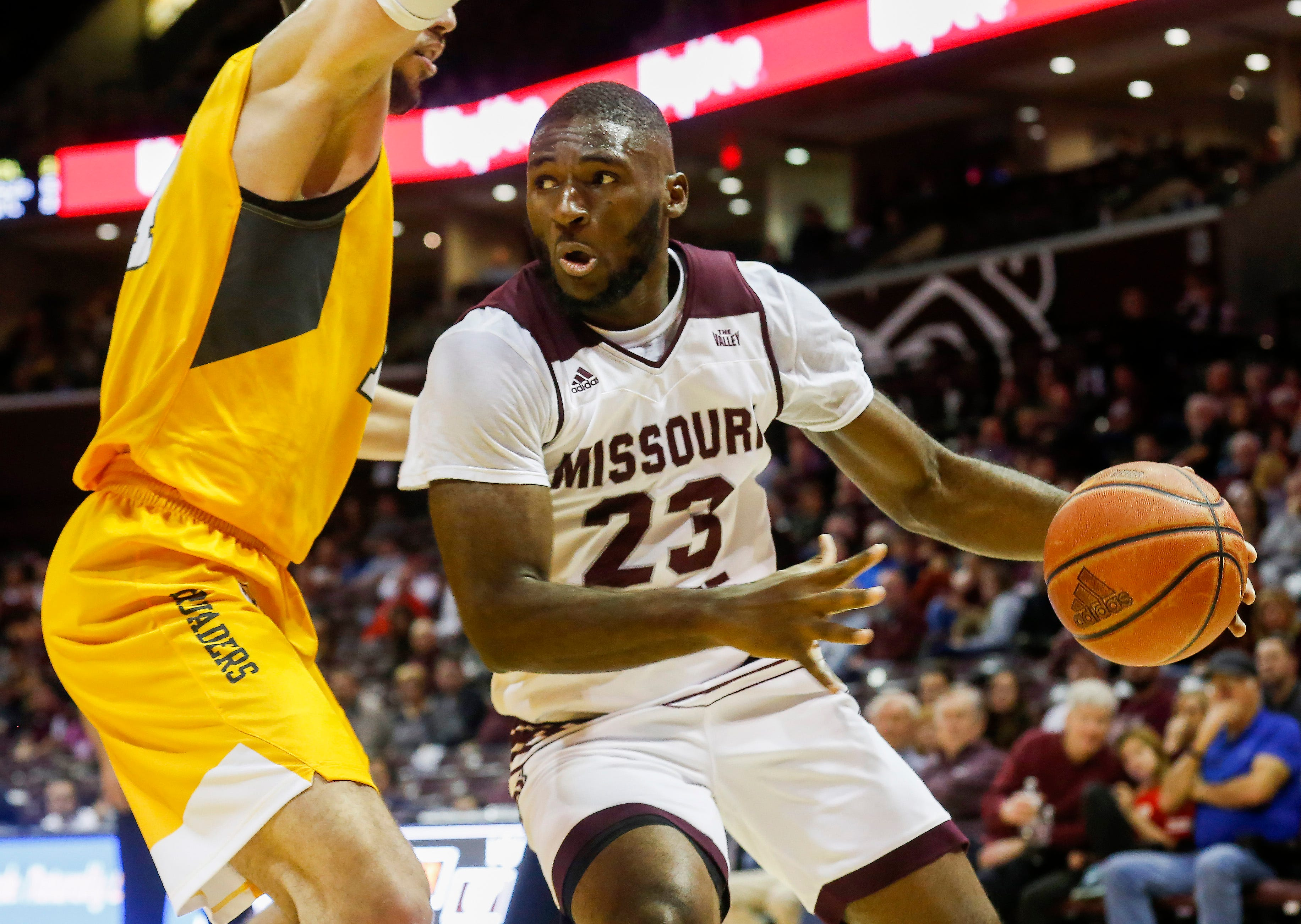 Missouri State University lost to Valparaiso 82-66 at JQH Arena on Saturday, Jan. 5, 2018.