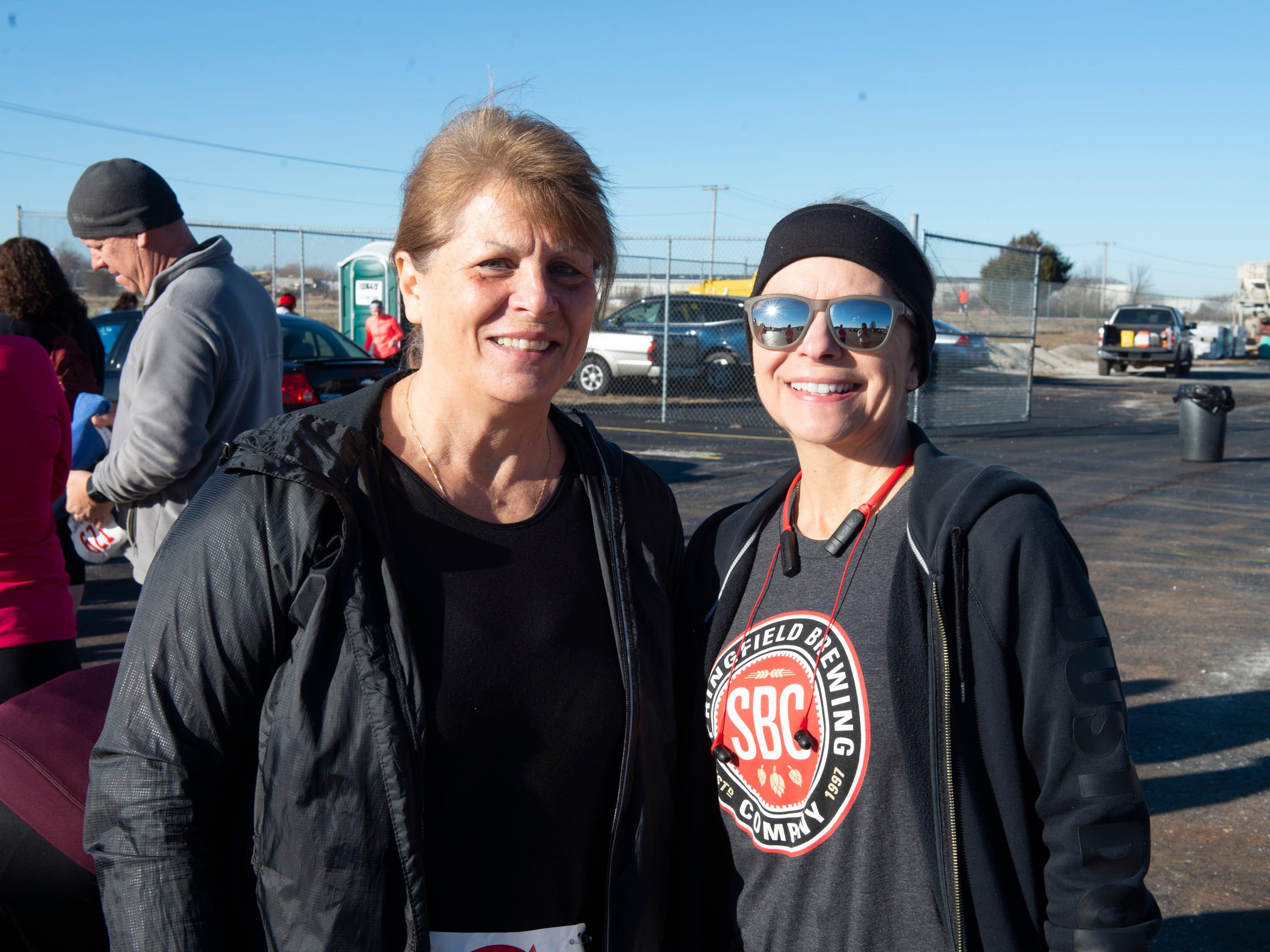 Paula Thompson and Glenda Gricest