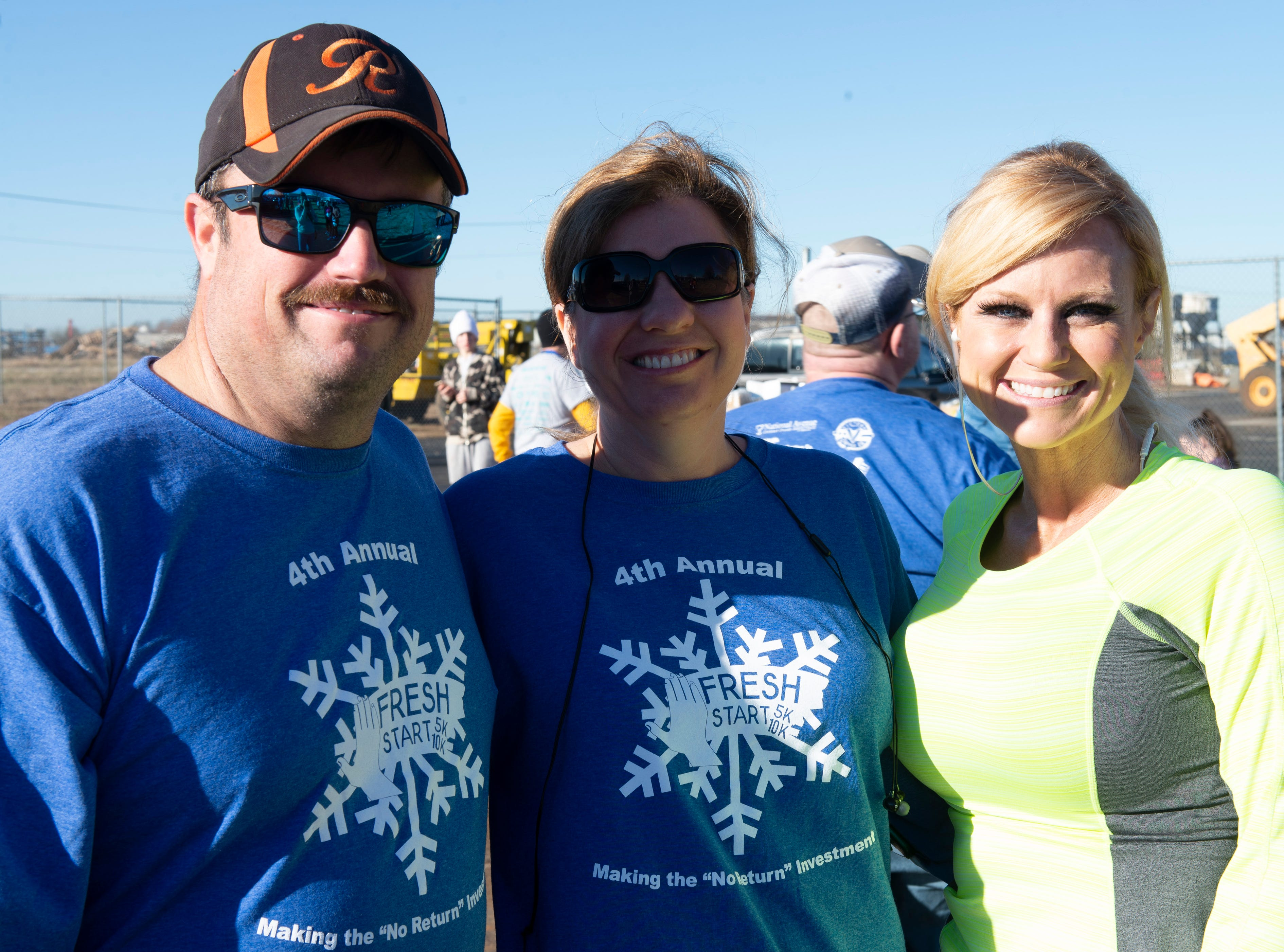 Kathy and Junior Murray, Brandi Martin