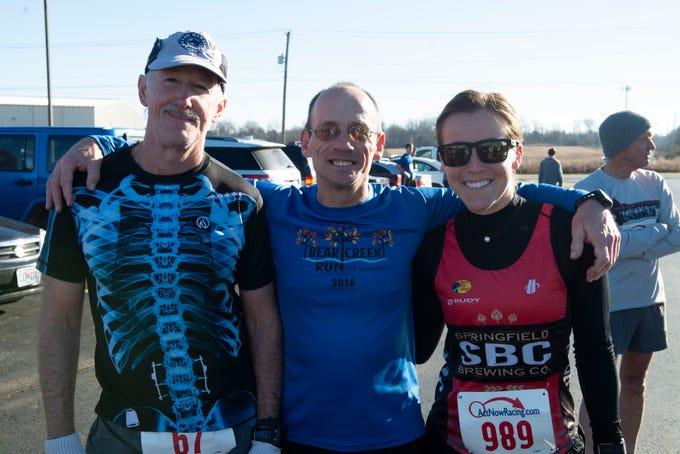 Sarah Waterman, John Everett, Mike Baxter