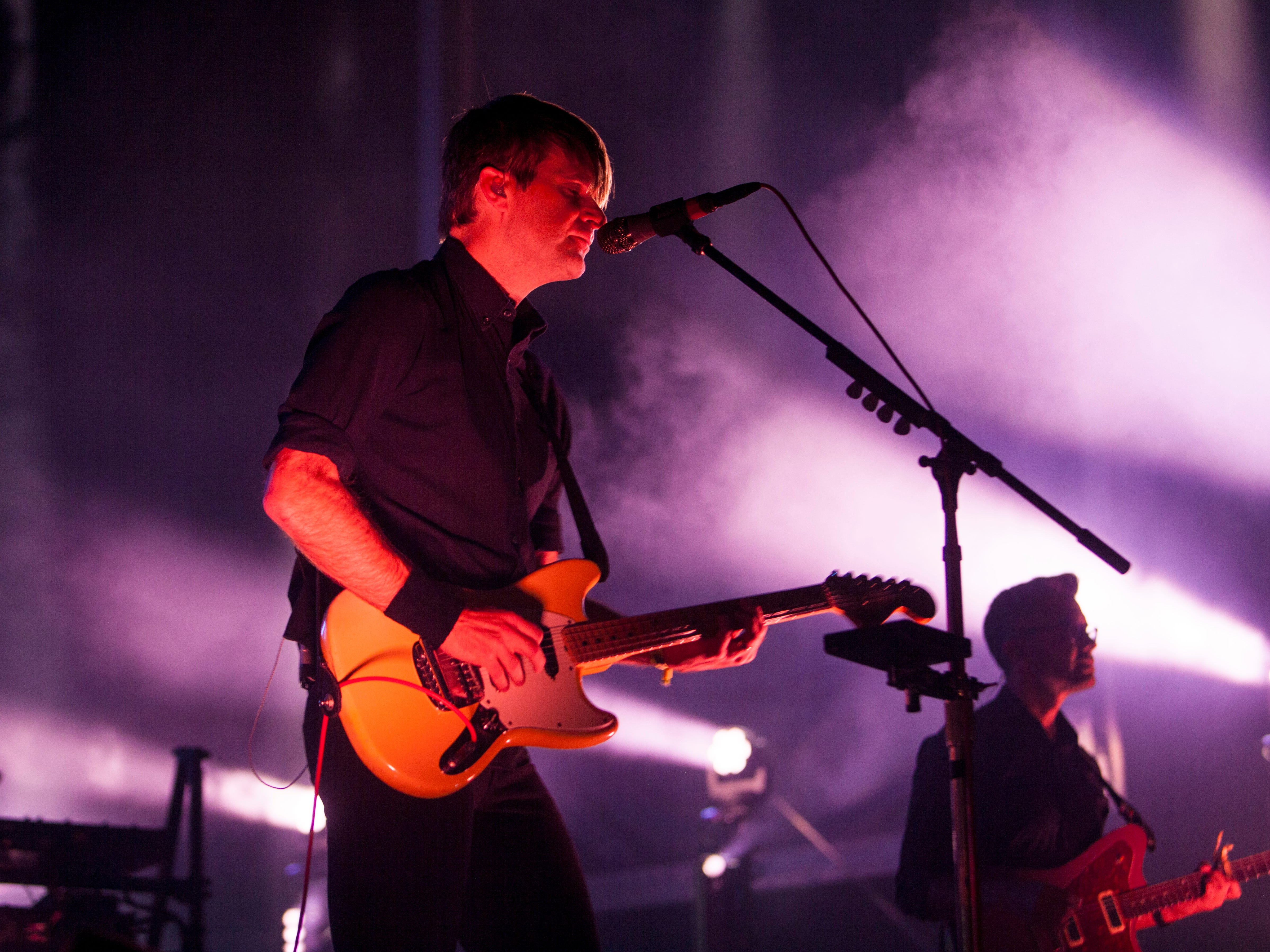 Death Cab For Cutie performs at the 2018 Life is Beautiful Festival.