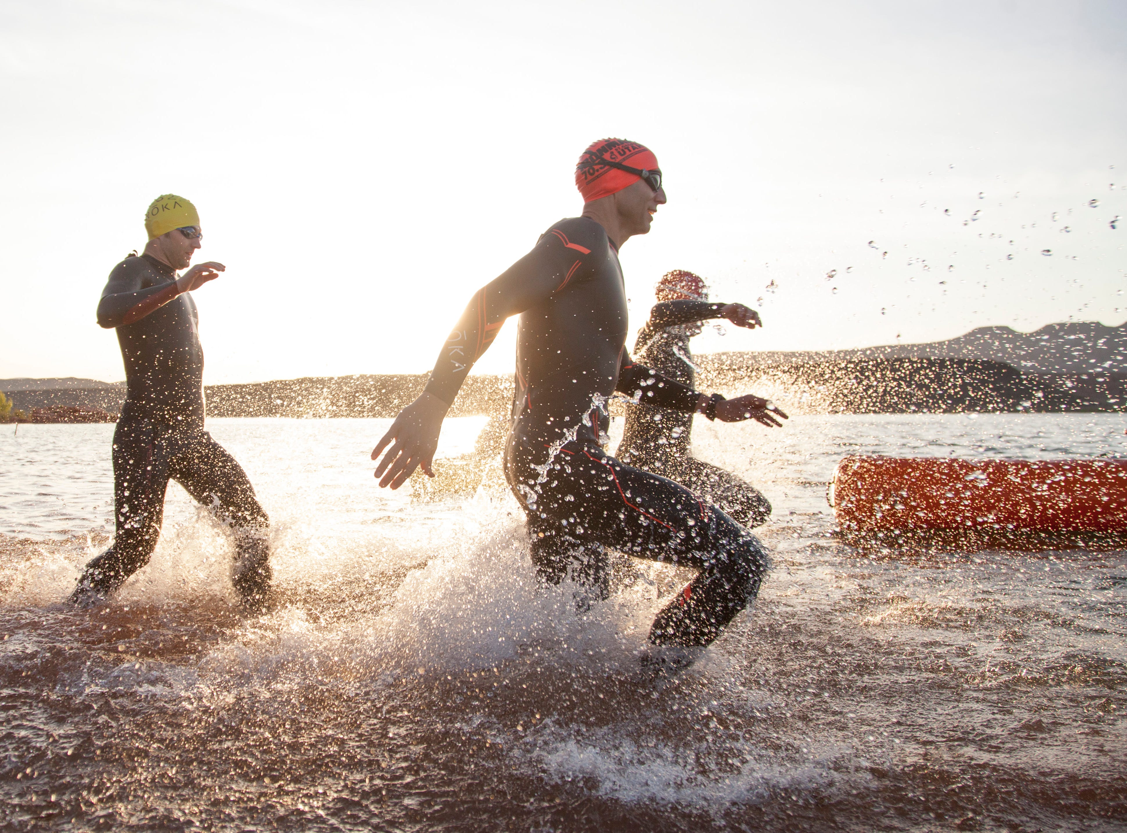 Athletes from around the world compete in the St. George Ironman Saturday, May 5, 2018