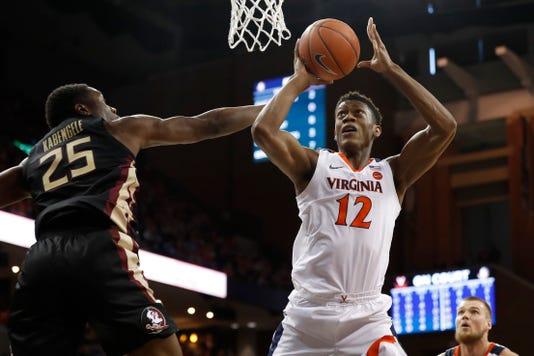 Ncaa Basketball Florida State At Virginia