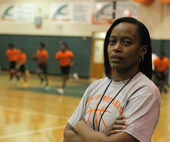Dione Desir, formerly Dione Smith, was an area star in 1997 at Godby High, setting a national steals record and leading the Cougars to a 5A state title. She became the boys basketball coach at FAMU DRS, an area first as a woman coaching in a male-dominated field.