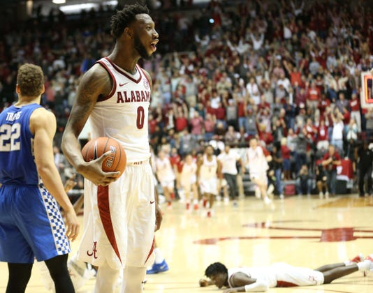 Ncaa Basketball Kentucky At Alabama