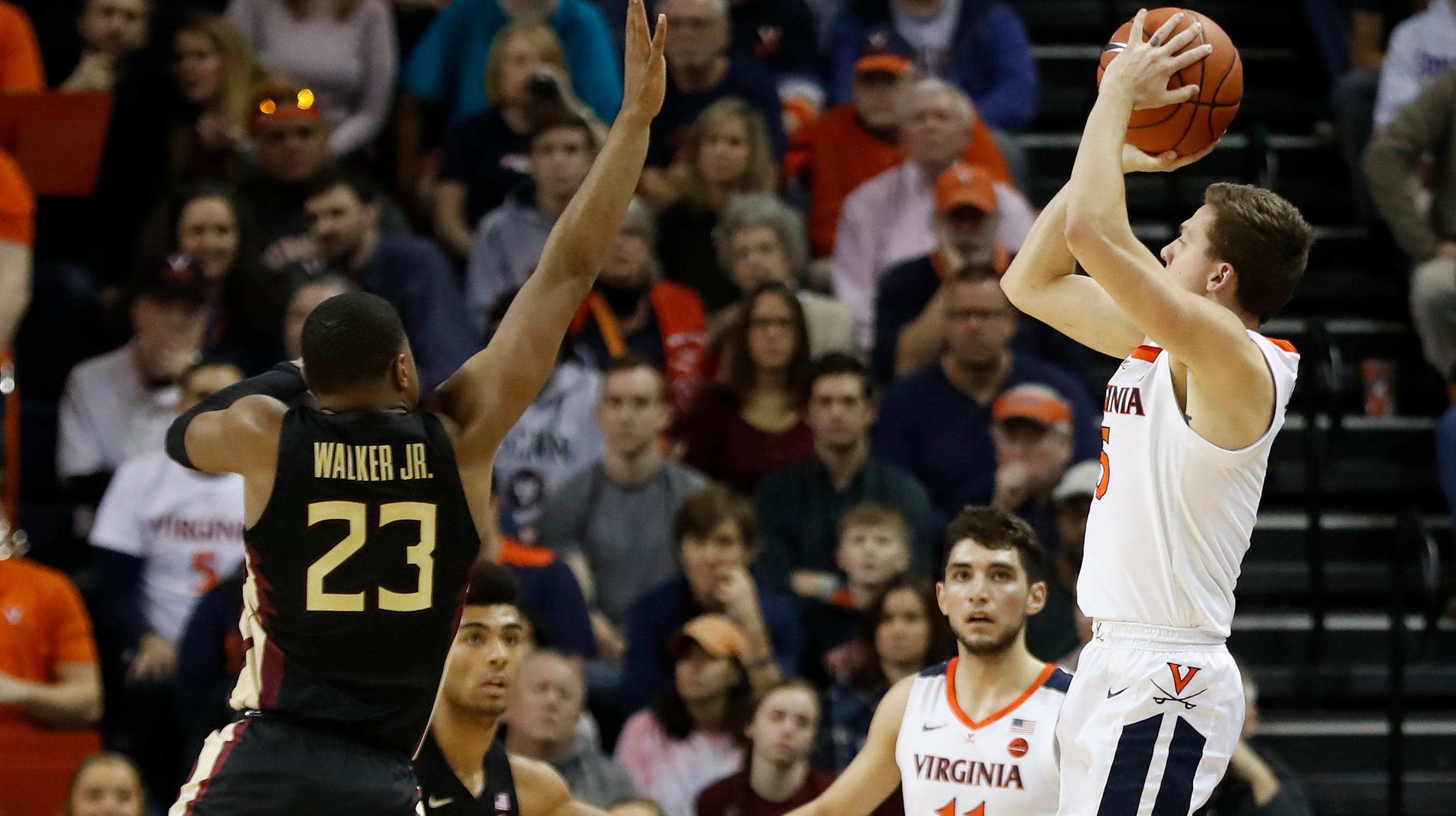Image result for Florida State vs Virginia basketball 2019