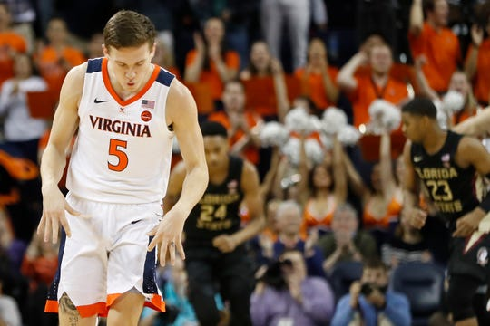 Kyle Guy has led No. 1 Virginia for much of the year.