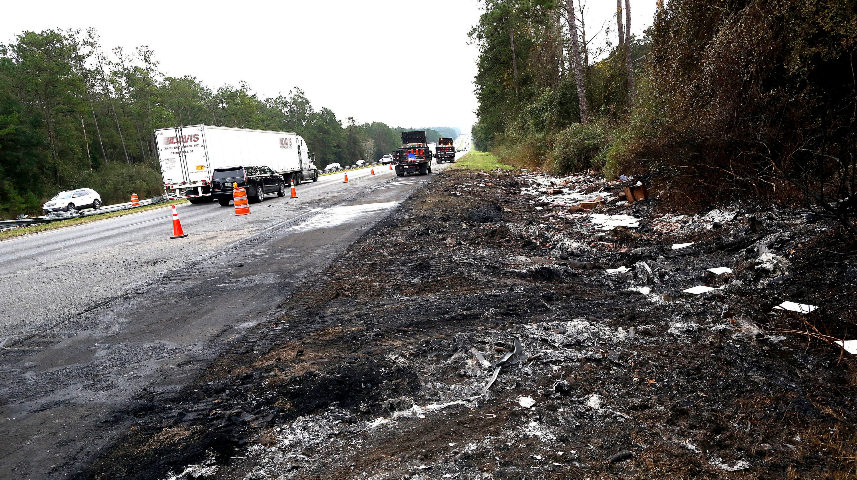 Truck driver in fiery crash had gotten multiple tickets over the years