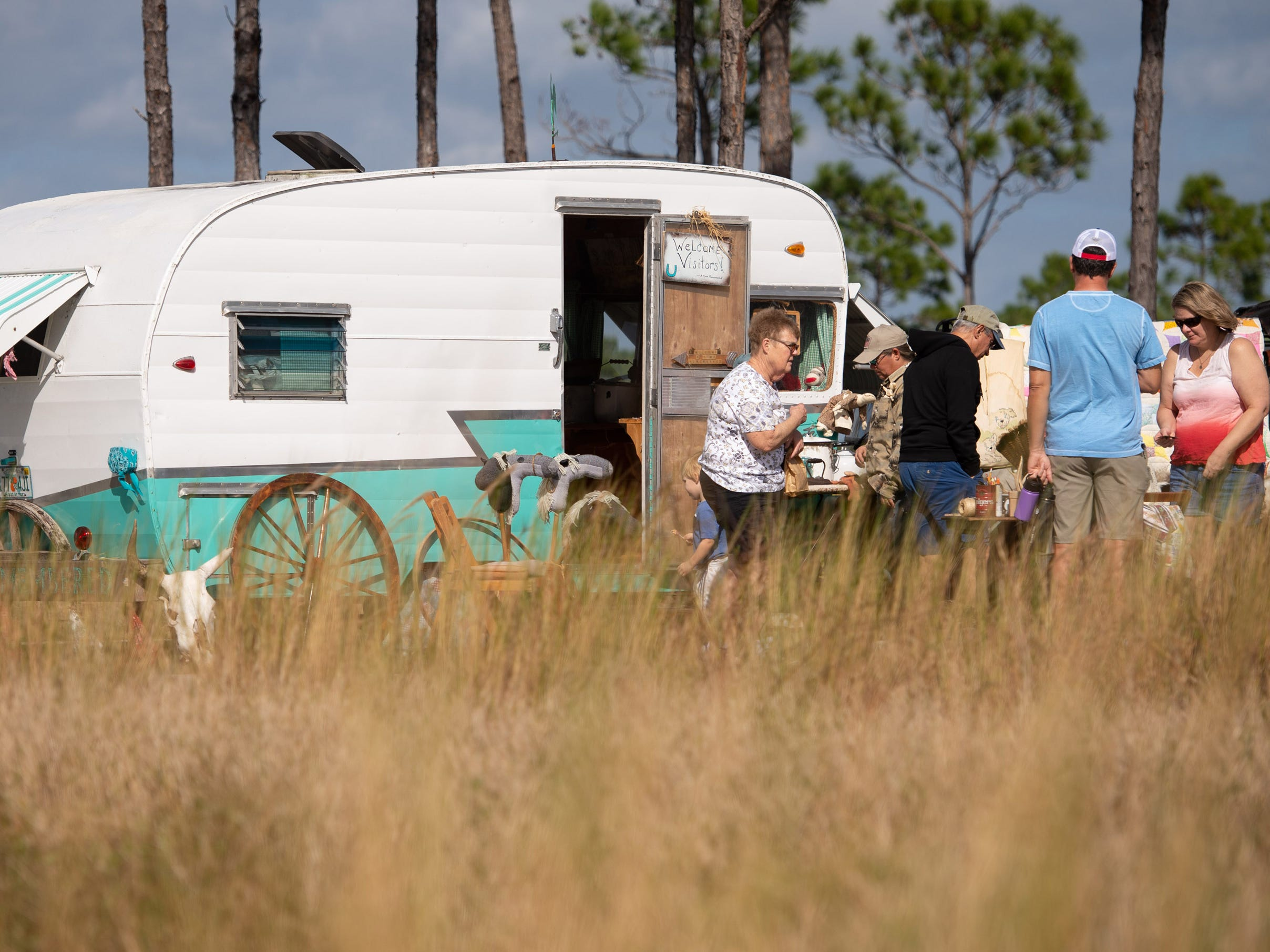 Miss Lucie's 10th annual Pioneer Day Festival featured exhibits and demonstrations showcasing how Floridians lived in the mid-19th century on Saturday, Jan. 5, 2019, at Savannas Preserve State Park in Port St. Lucie.