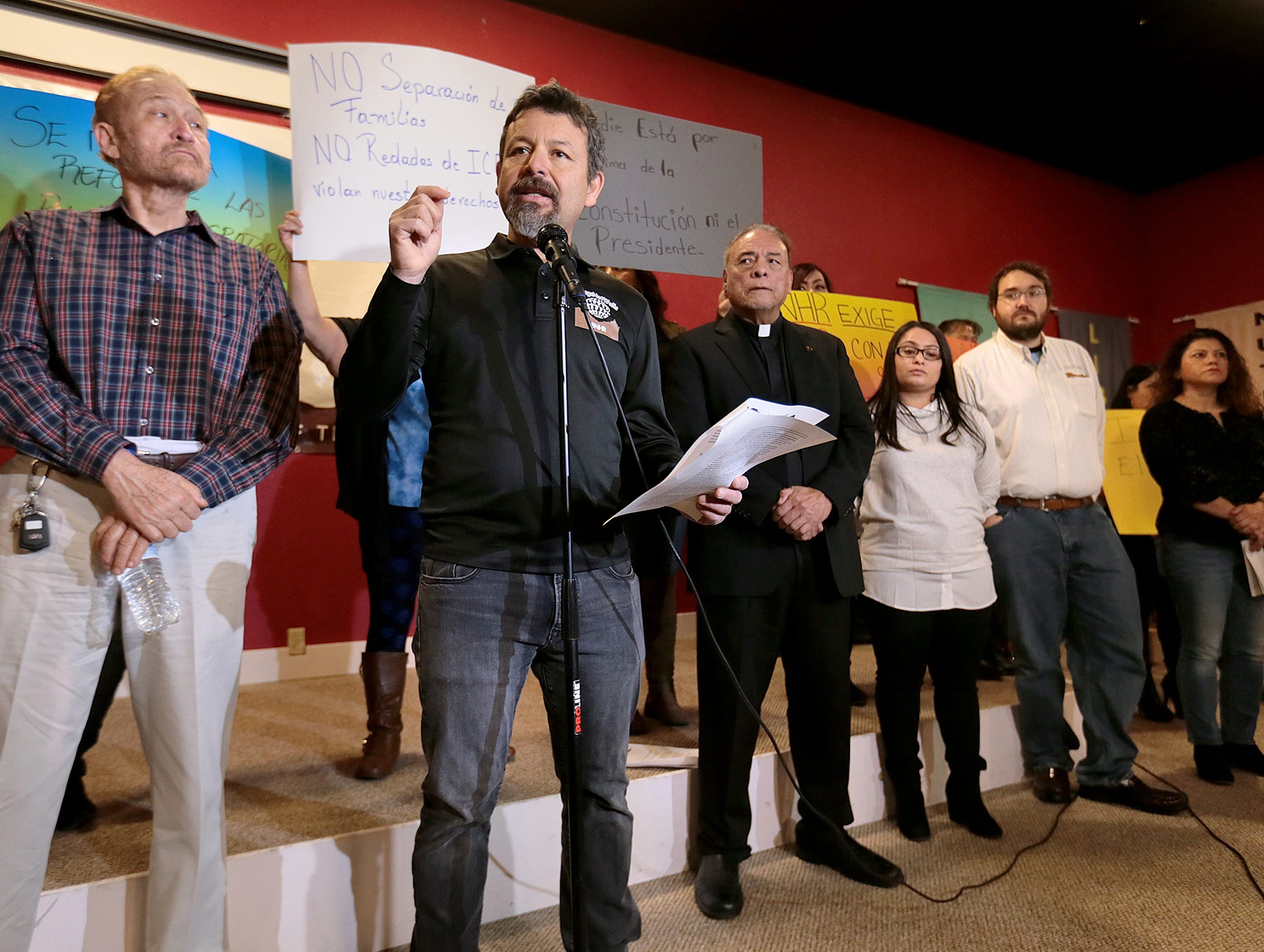 Fernando Garcia, executive director of the Border Network for Human Rights, lays out the organization's plans for 2019 and denounces President Donald Trump's immigration tactics.