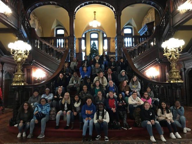 Millville High School AVID students visited Arcadia University.