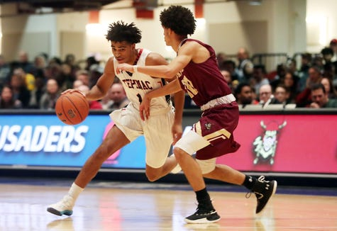 Iona defeated Stepinac 60-55 to win the Crusader Classic at the Westchester County Center in White Plains Jan. 4, 2019.