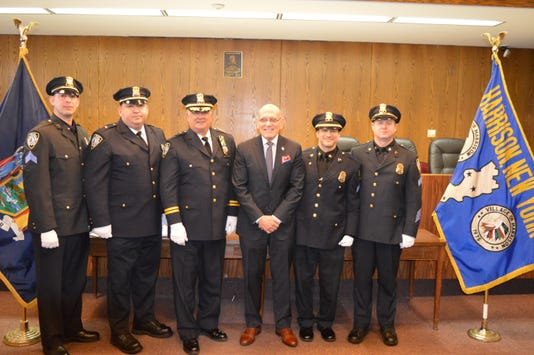 Harrison Police Department promotions
