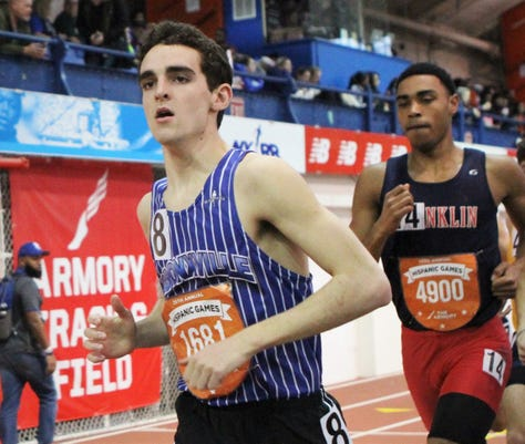 Bronxvilles Matt Rizzo Earns Trip To Millrose Game With 2019 Hispanic Games Boys Invitational Mile Win