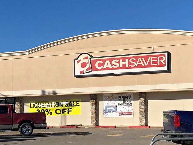 In this file photo, Wichita Falls' Cash Saver closed late 2018 due to declining sales.