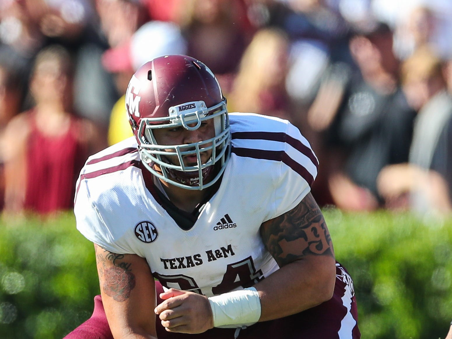 Erik McCoy, OL, Texas A&M