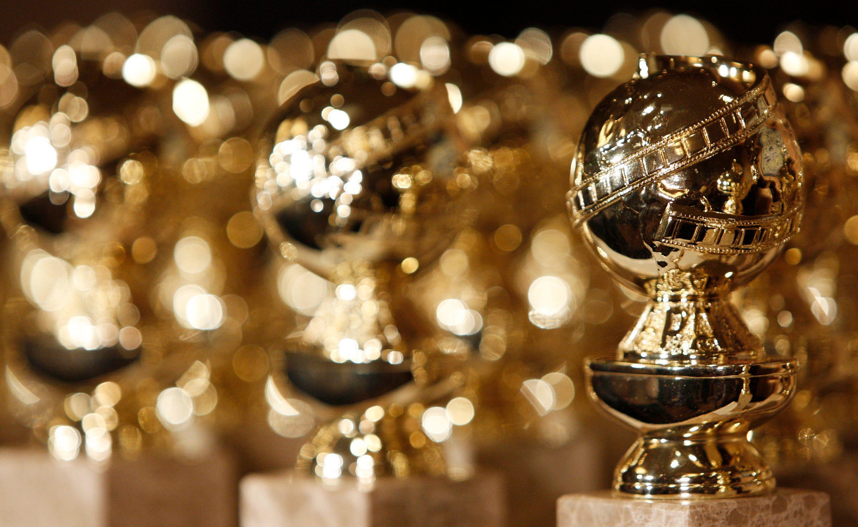 Golden Globes Trophies Statuettes