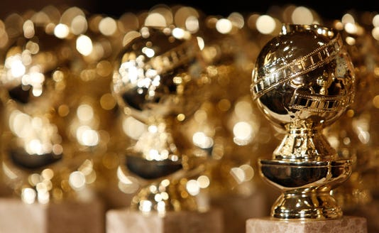 Golden Globes Trophies Statuettes