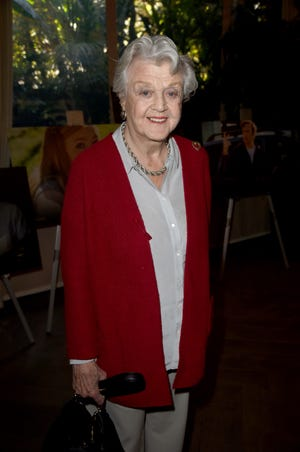 Angela Lansbury surprised the star-filled crowd at Friday's 19th annual AFI Awards in Beverly Hills, Calif.