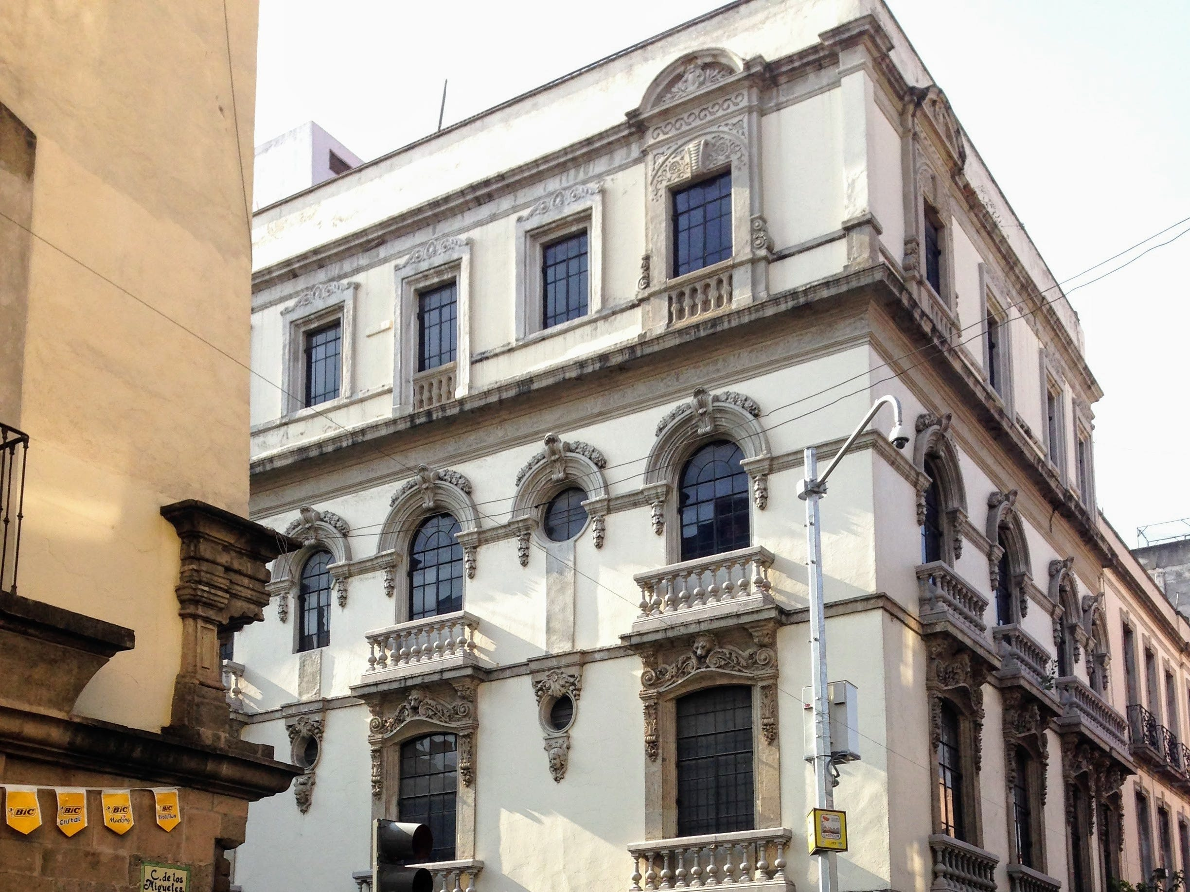 Mexico City's Centro Histórico is full of buildings that span the centuries of the city's history, from the colonial period through today.