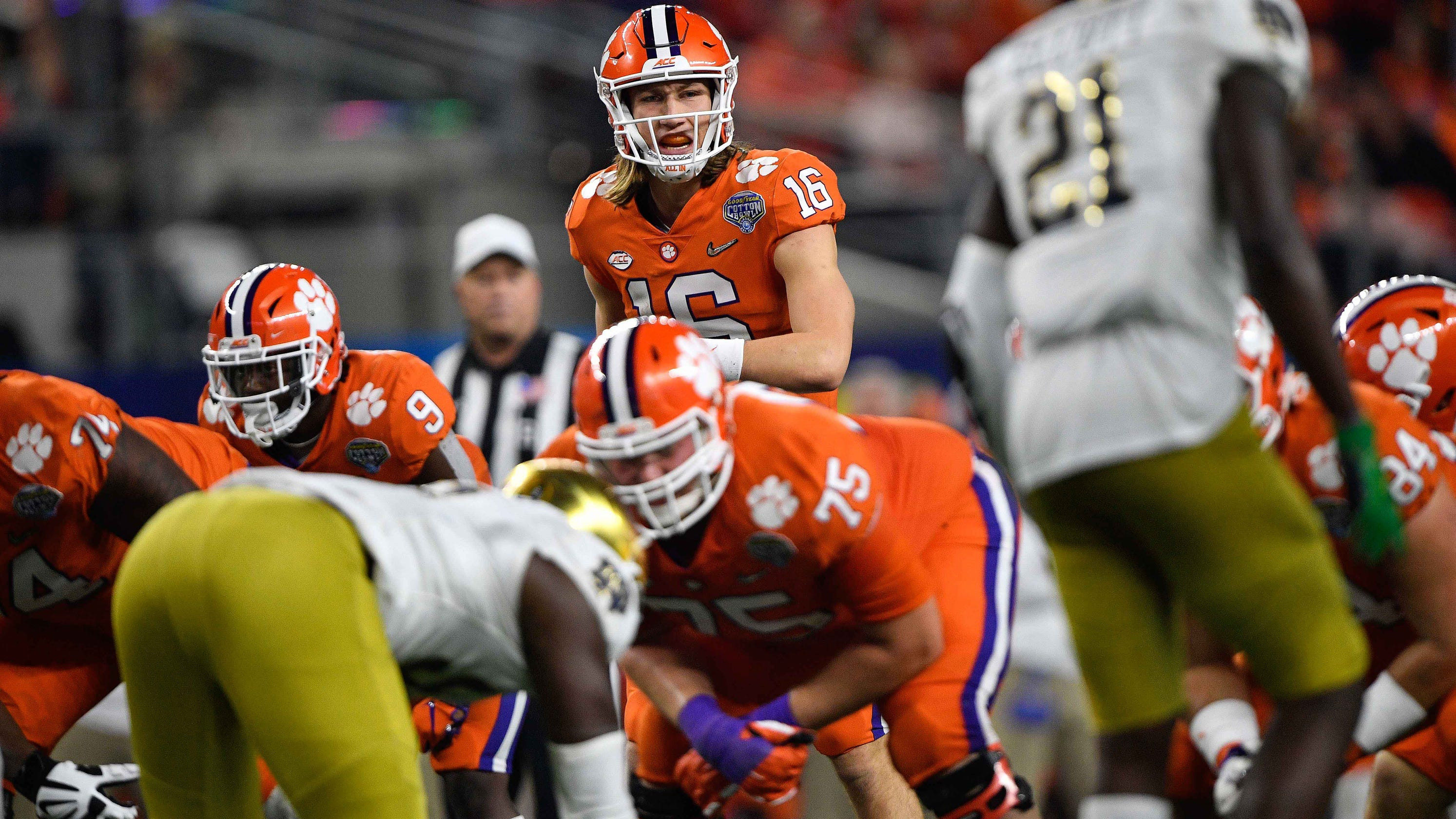 Trevor Lawrence is the difference for Clemson. Not the scheme