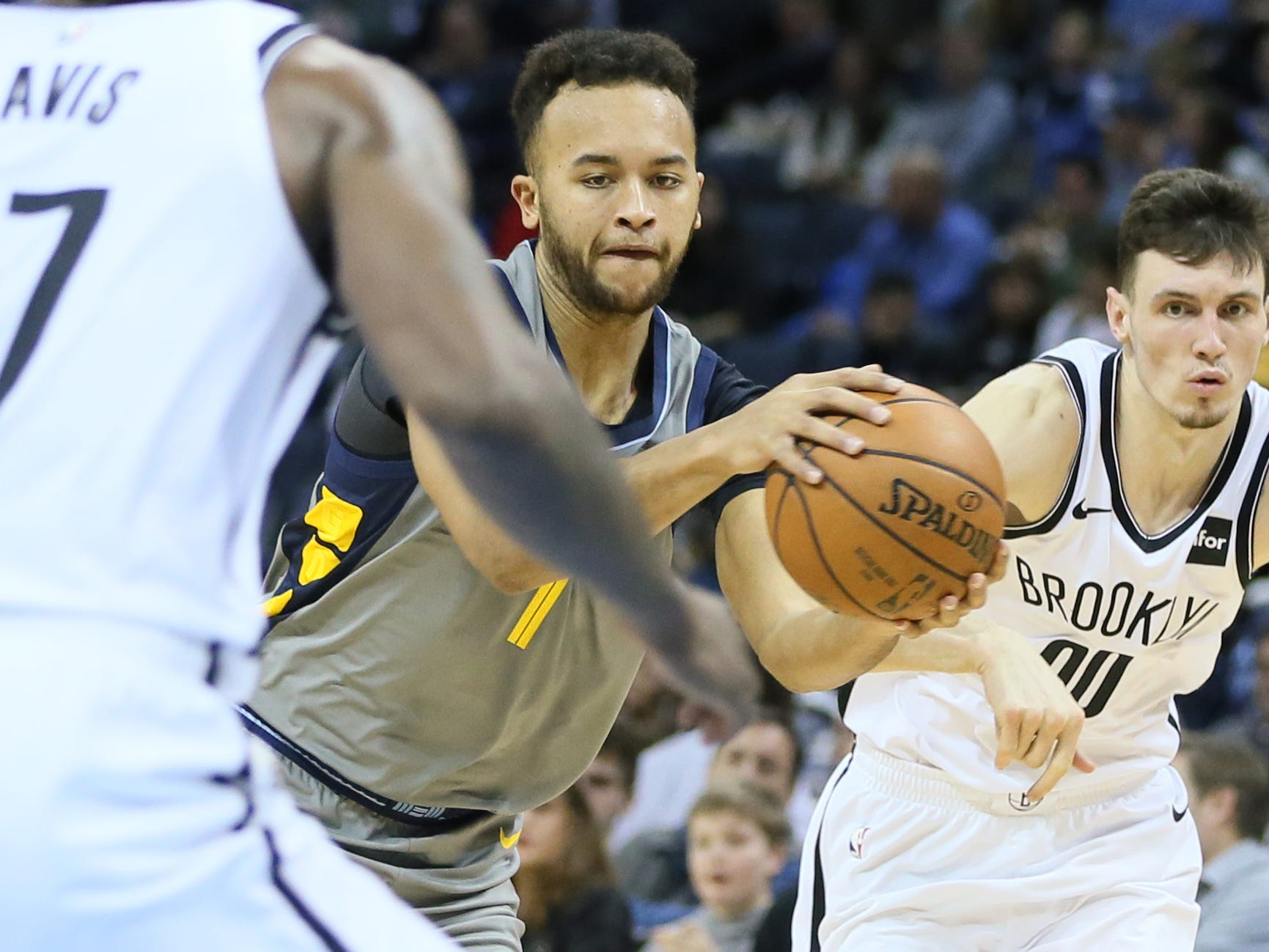 44. Kyle Anderson, Grizzlies (Jan. 4): 11 points, 11 assists, 10 rebounds in 109-100 loss to Nets.