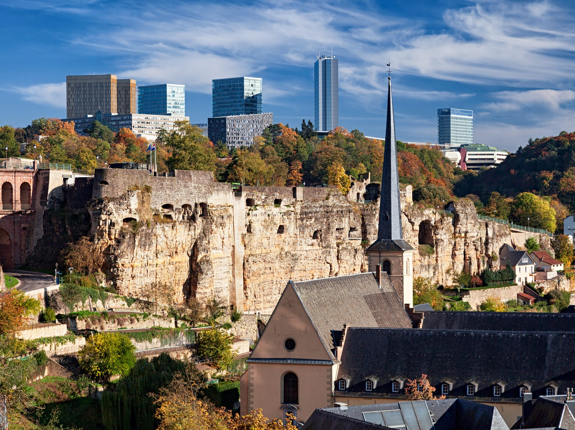 No. 34: Luxembourg, $769/square foot ($41,347 local salary buys a 161 sq. ft. dwelling).