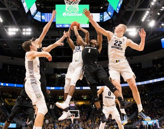 Ncaa Basketball Xavier At Marquette