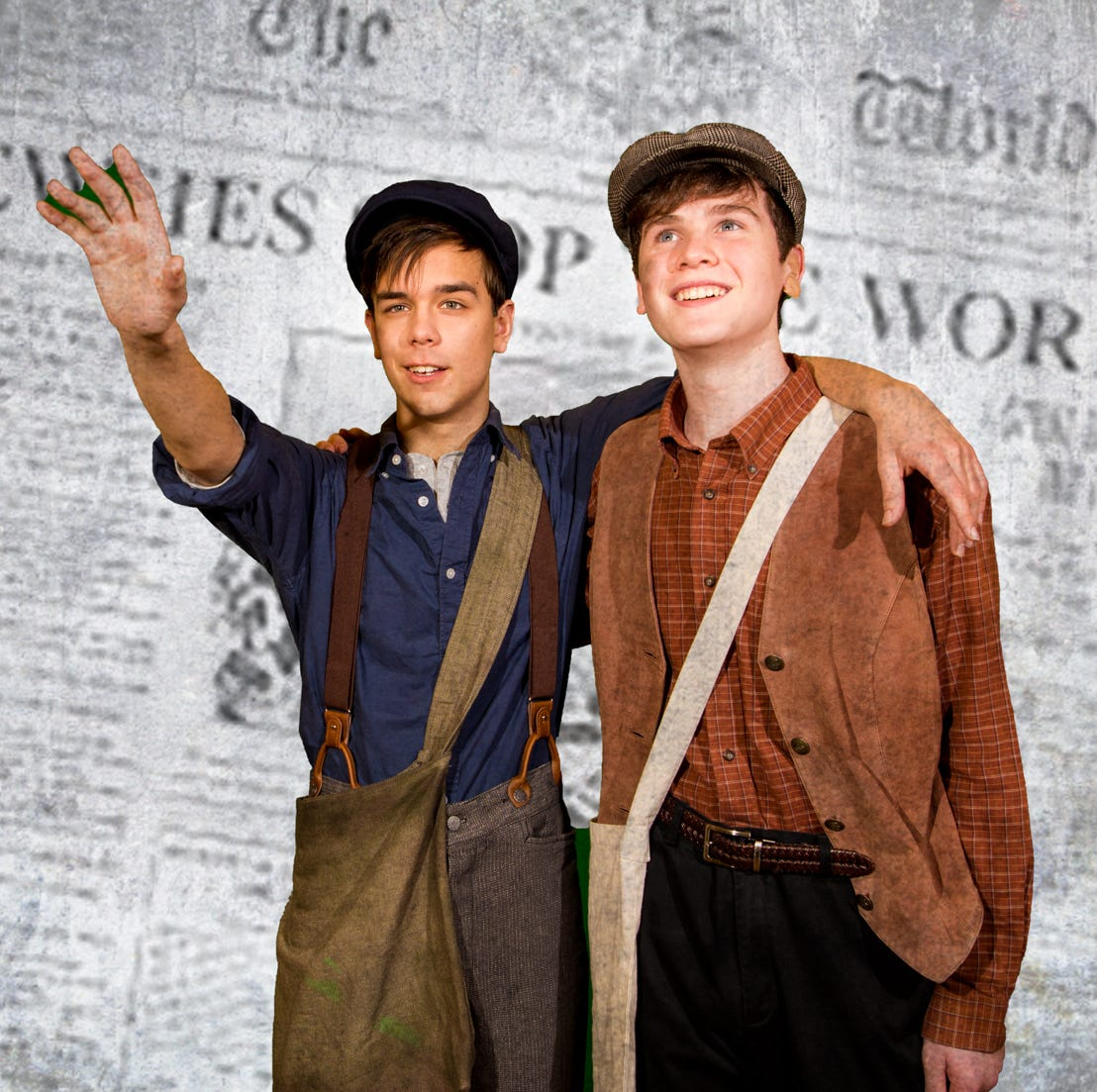 ShowKids Invitational Theatre presents 'Newsies' from Jan. 19 to 27 at Voorhees High School