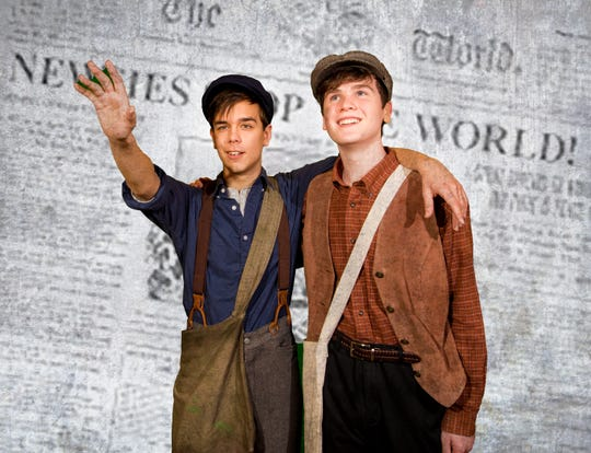 "ShowKids Invitational Theatre (SKIT) presents ""Newsies"" the musical, Jan. 19 to 27 at Voorhees High School."